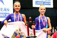 AUT, ECU European Cheerleading Championships 2016